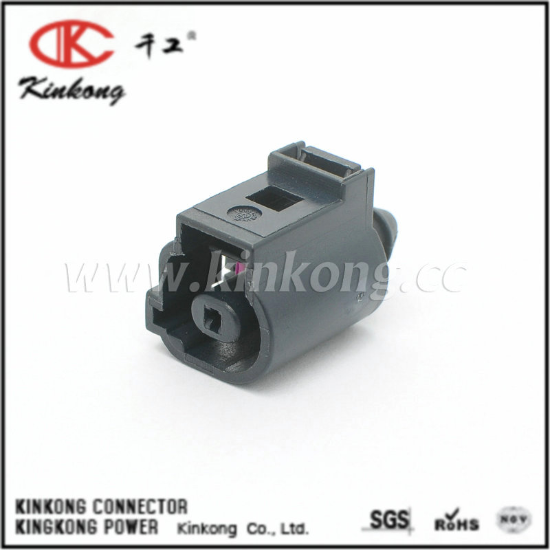 1J0 973 701A 1 Pin Female PBT Waterproof Auto Terminal Block Connector For VW CKK7015A-1.5-21