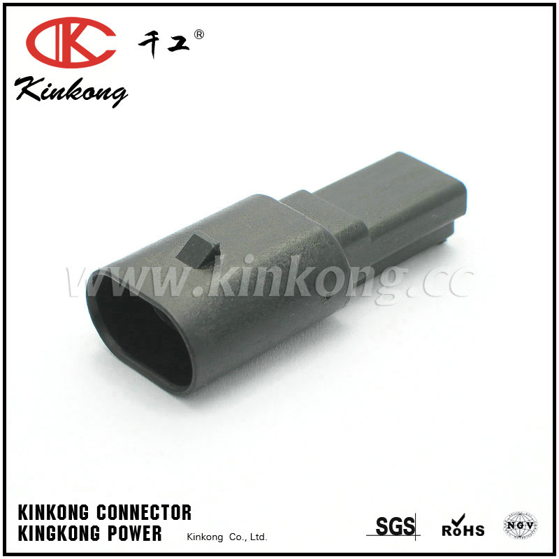 3 way male waterproof cable connectors  CKK7031B-1.5-11