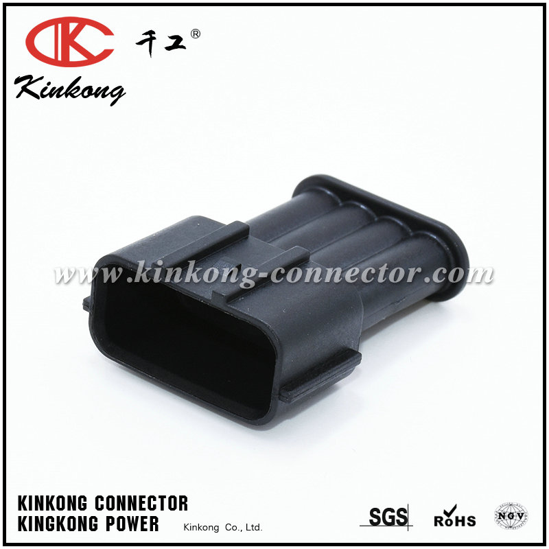 Kinkong 4 pin male waterproof car sensor connector CKK7044-2.2-11