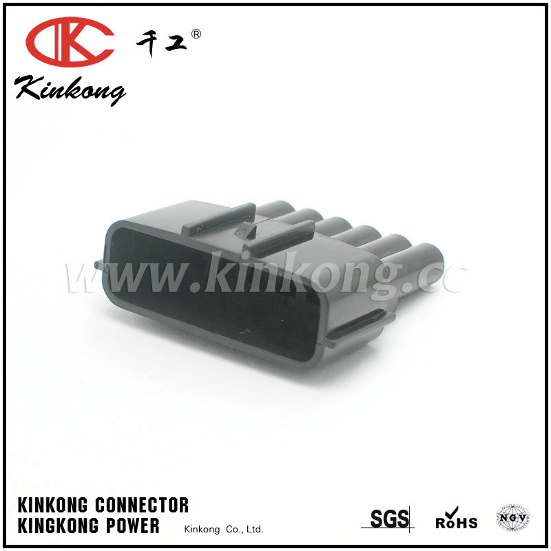 6 way gray male  vehicle speed Accelerator pedal connector CKK7061B-2.2-11