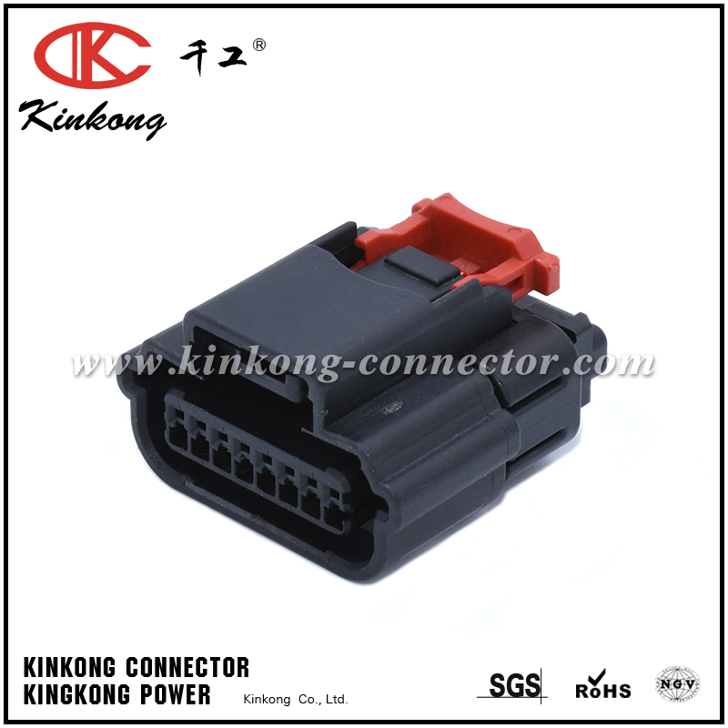 8 way female waterproof cable wire connector  CKK7081B-0.7-21