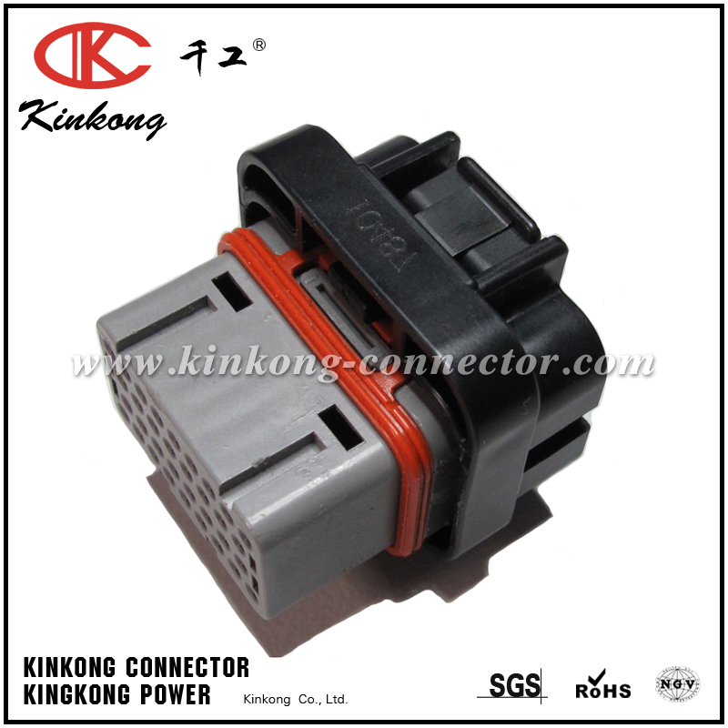 34 pin female Amp housing plug CKK734G-1.6-21