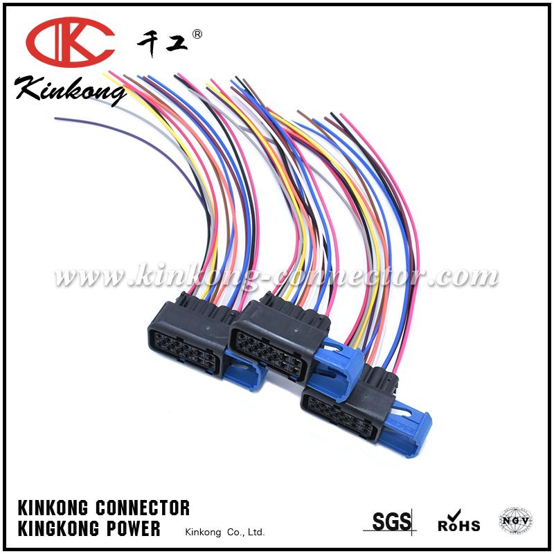 Automotive Wiring Harness Assembly : Custom automotive wiring harness cable assembly with