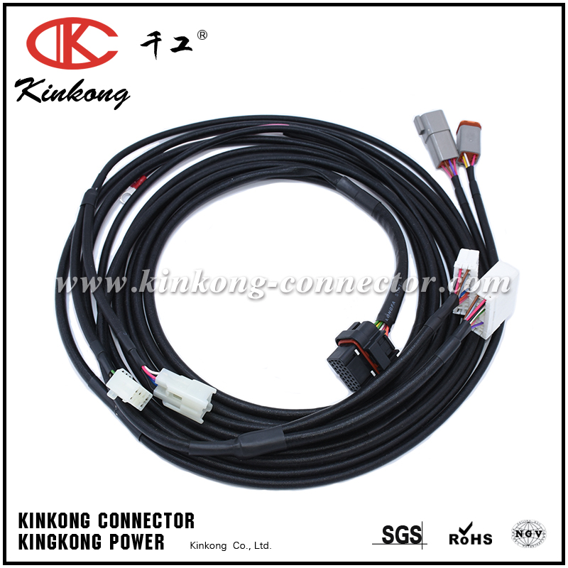 Kinkong Custom Automotive Wire Harness Wire Loom WD042