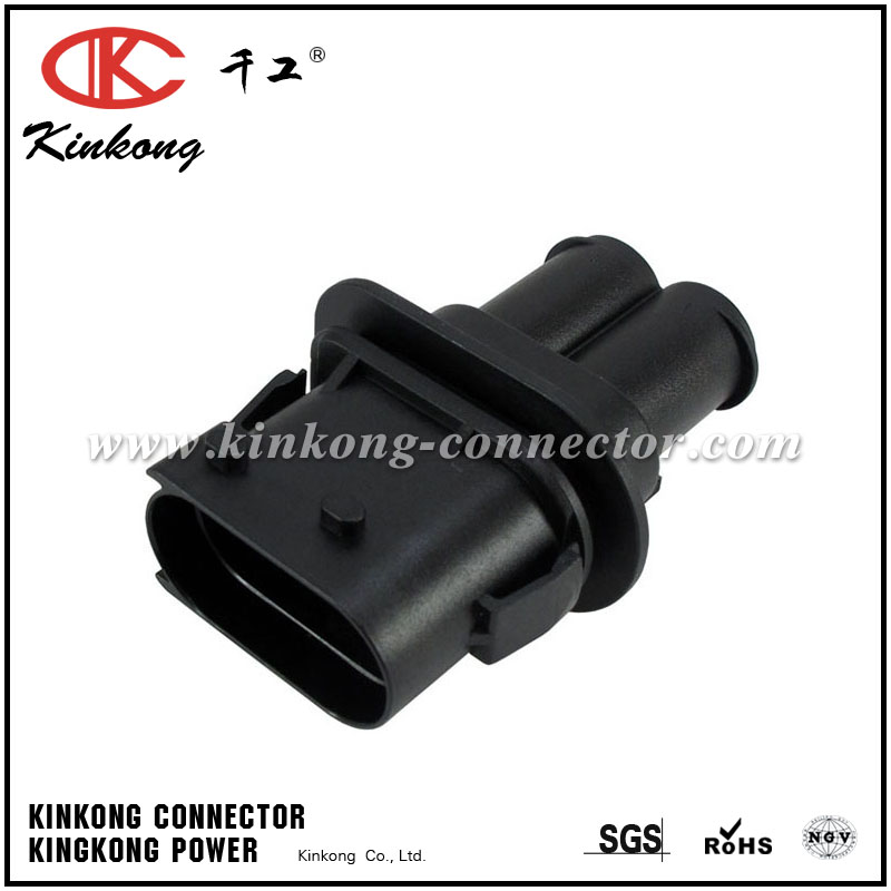 1394026-2 2 pin blade waterproof auto connector