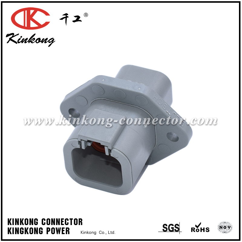 4 pin male waterproof auto connector DTP04-4P-L012