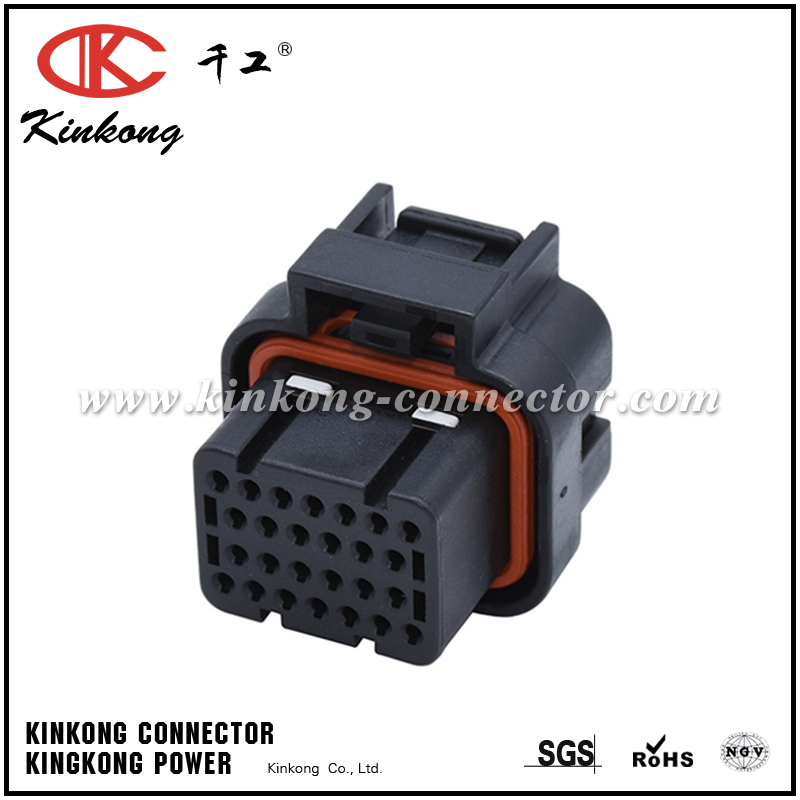3-1437290-8 26 Position TE Connectivity Quad Row Upper Lock Super Seal Plug Automotive Connectors CKK726B-1.6-21