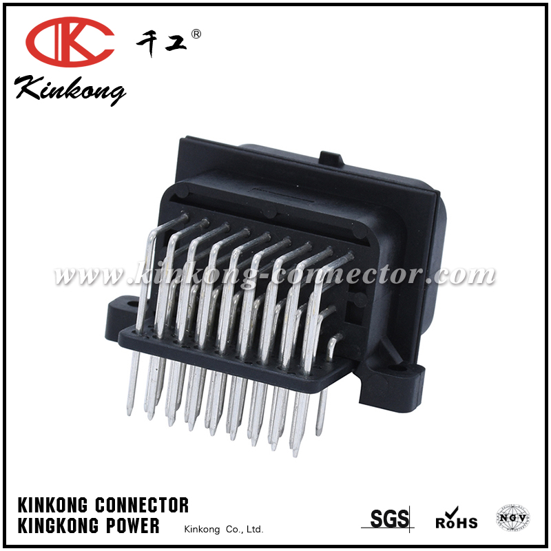 1437288-2 6437288-2 34 pin pcb waterproof wire connectors with tin plating or gold plating CKK734BA-1.6-11