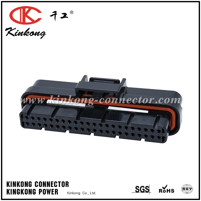 1376886-1  2-1447232-6  3-1447221-3  5-1447223-7 44 Pin superseal 1.0mm automotive receptacle connector CKK744-1.6-21