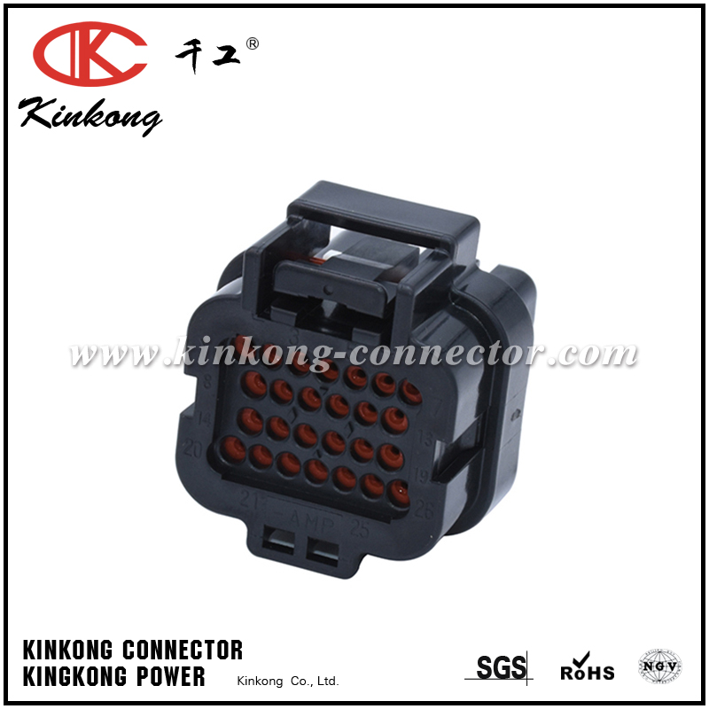1473416-2  26 way Amp 1.6 series waterproof auto connector CKK726E-1.6-21