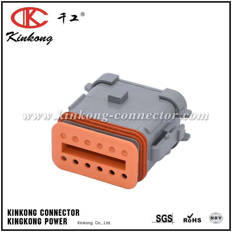 DT06-12SA-CE05 12 way female waterproof automobile connectors