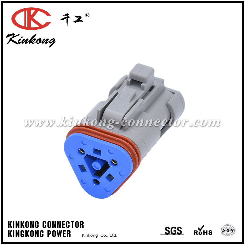 DT06-3S-P006 3 way DT series female sockets