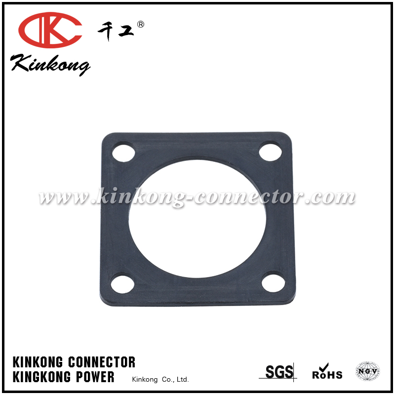 RTFD12B SQUARE FLANGE RECEPTACLE GASKETS, SHELL SIZE 12, THICKNESS 0.8MM (±0.2). COMPATIBLE TO PART UTFD13B