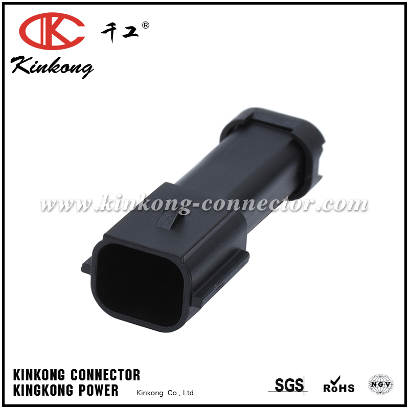 3 pin blade waterproof wire connector  CKK7031B-0.7-11