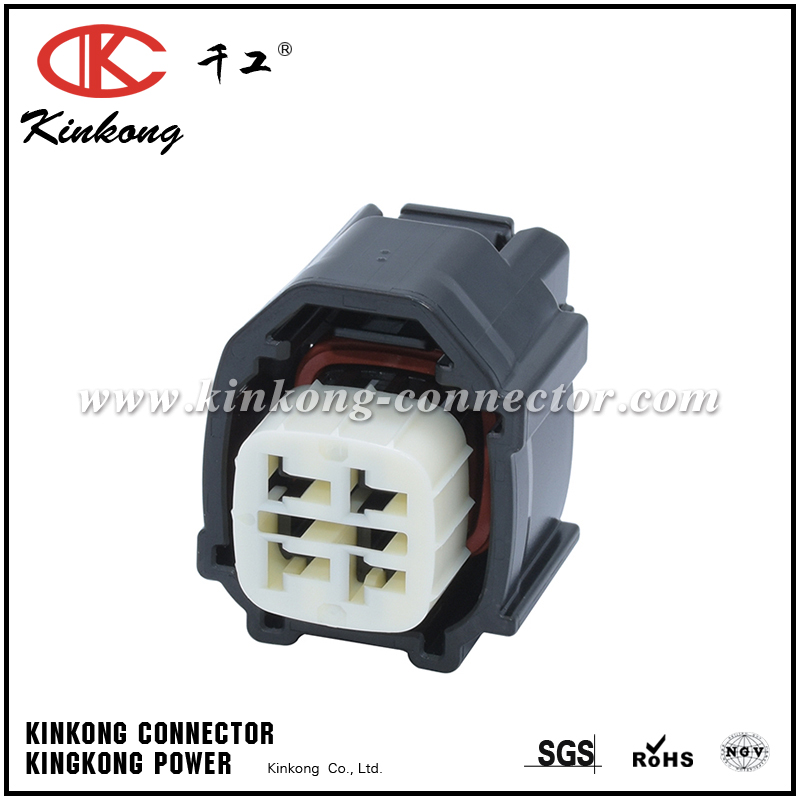 90980-12A57 4 hole female TS sealed series connector for Toyota CKK7046P-2.2-21