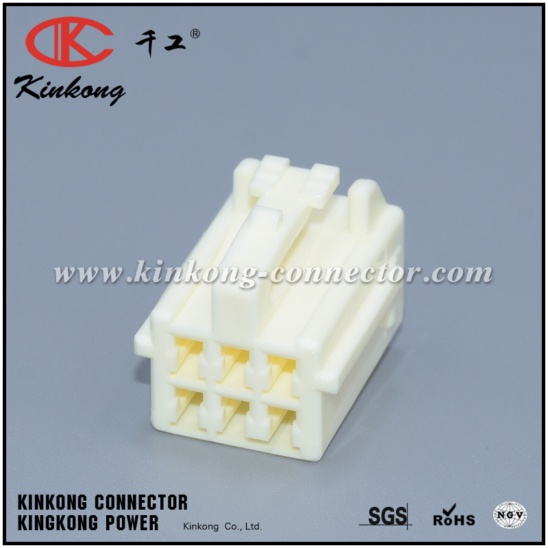 7283-1068 4F5650-000 6 hole female Fuel Injector Automotive Connector CKK5065Y-2.2-21