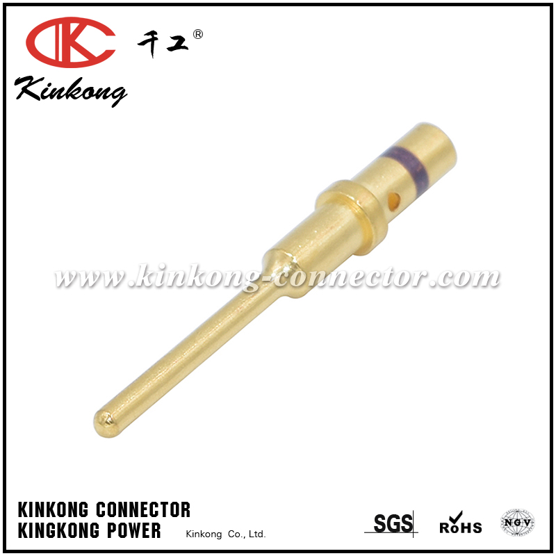 0460-010-2031 SIZE 20 SOLID PIN 16-18 AWG GOLD PLATED