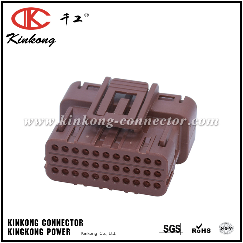 Kinkong 33 hole receptacle automotive electrical connector CKK733BR-0.7-21