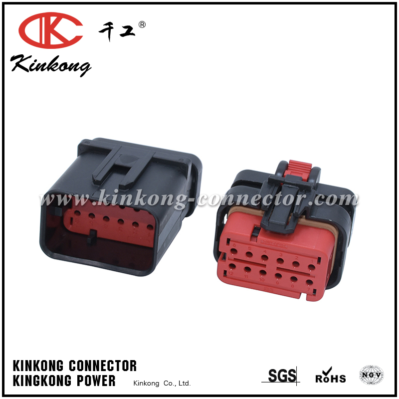 776437-1 12 ways automotive electrical connector CKK3125R-1.5-21