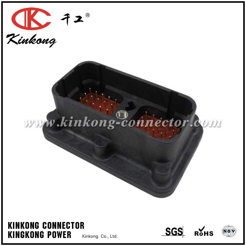 DRC20-50P07 50 pins blade crimp connector