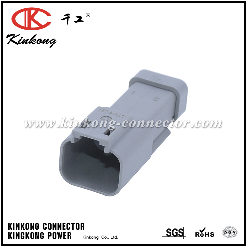 DT04-2P-E003 TE 2 pins blade cable connector