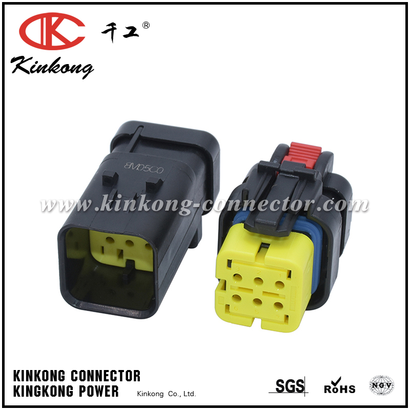 Groovy 6 Hole Receptacle Wiring Socket Automotive Connector 776433 3 Wiring Cloud Nuvitbieswglorg
