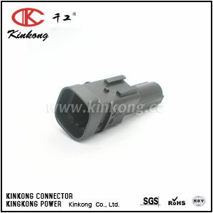 1544606-1 1 way male car automotive plug CKK7011B-7.8-11