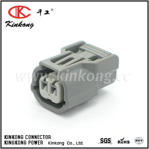6189-0891 2 pin black female automobile connector  CKK7021S-1.2-21