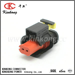 284556-1 2 way tyco replacement female sensor automotive connector CKK7021C-1.5-21