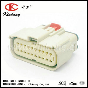 33472-2007  20 pin female automobile electric ECU connector for car   CKK7201G-1.0-21