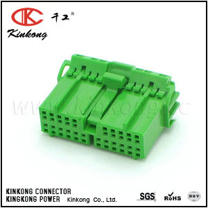 Female Housing OBD2 Civic Green Chassis 22 way wiring connector CKK5221G-1.2-21
