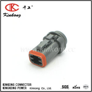 4 way female automotive electrical connectors CKK3041H-1.5-21
