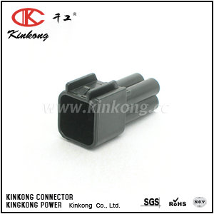 FW-C-4M-B 4 pin male automotive electrical connectors CKK7044-2.3-11