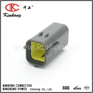 174259-2 4 pin male waterproof plug CKK7042-1.8-11