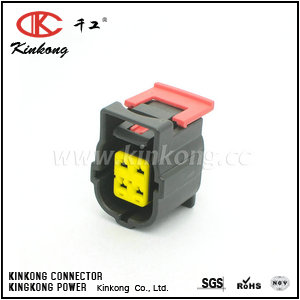 184340-1 4 hole receptacle automotive connectors CKK7042C-1.8-21