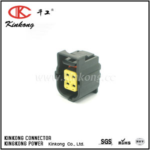 4 pole receptacle waterproof socket housing CKK7042L-1.8-21