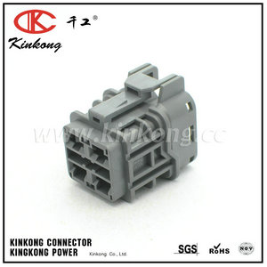 7123-6244-40 4 pin female automotive electrical connectors CKK7041-6.3-21