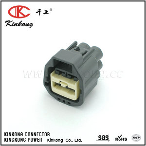 4 way receptacle cable wire connectors CKK7044G-6.3-21