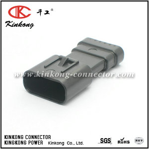 Kinkong new molded 6 pin male automotive electrical connectors CKK7061C-0.7-11