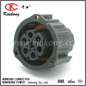 967650-1 1-1813344-1  7 pole female waterproof electrical connector CKK3072-1.5-21