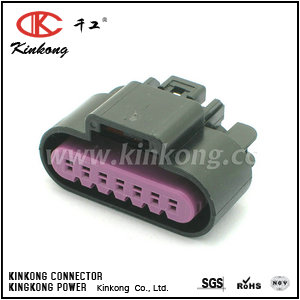 7 pin female auto connector  auto plug  car plug CKK7071A-1.5-21