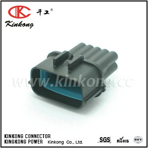 10 pole male waterproof electrical connector  CKK7101C-1.2-11