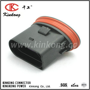 10 pole male waterproof electrical connectors  CKK7105A-3.5-11