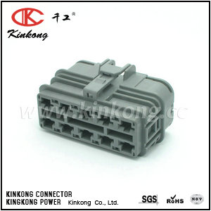 10 pin female waterproof automotive connector  CKK7101-6.5-21