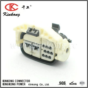 90980-12483  11 pin female waterproof type automotive electrical connectors