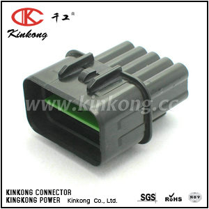 10 pin waterproof electrical plug  CKK7105-2.3-11