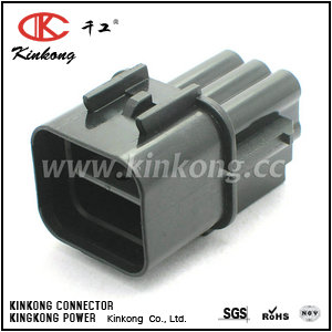 6 pin female waterproof  automotive electrical connectors  CKK7065A-2.3-11