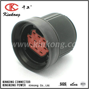 10 hole female waterproof cable connector   CKK7101-3.5-21