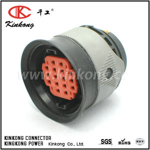 16 hole female waterproof car connectors CKK3162-1.5-21