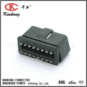 16 pin male cable connectors for cars  CKK5165-1.5-11